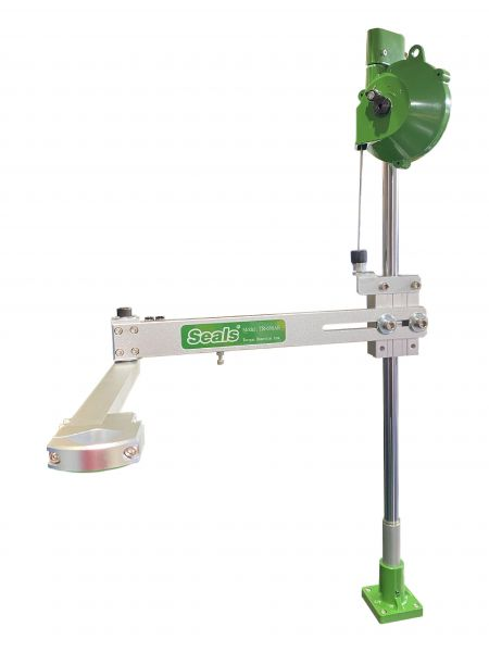 Braccio di reazione alla coppia (raggio di lavoro di 750 mm) - Braccio lineare di coppia (corsa orizzontale di 298 mm) (modello: TA-300)