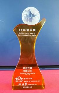 2016 Golden Hand Award