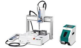 Alimentador de parafuso automático de mesa XY
