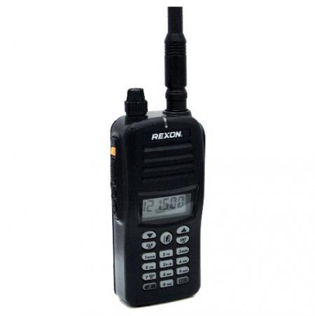 RHP530E 右前圖-無線電航空手持對講機