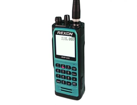 Radio d'aviation portative-USB Type-C - Radio bidirectionnelle - Aviation-USB Type-C RHP-535