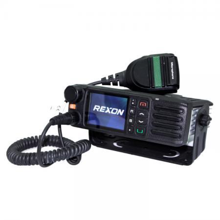 DMR Digital Mobile IP54 With Bluetooth & GPS Radio - Two-way Radio - DMR Digital Mobile IP54 With Bluetooth & GPS Radio RM-810