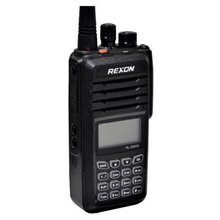Right front RL-D800K -DMR Digital Handheld Radio