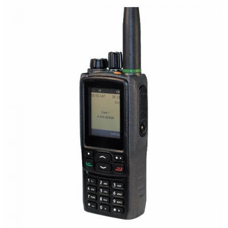 راديو رقمي محمول DMR-IP67 مع بلوتوث و GPS وراديو من المستوى II / III