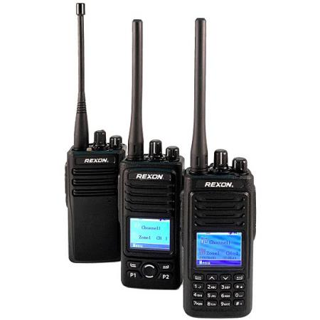 راديو DMR رقمي محمول - راديو IP66 / شاشة LCD ملونة