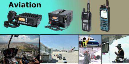 Radio de aviación - Radio bidireccional - Aviación