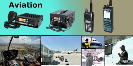 Radio aéronautique - Radio bidirectionnelle - Aviation