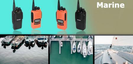Морское портативное радио - Двусторонняя радиосвязь - Морская РЛ-3188М