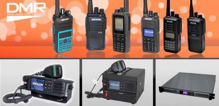 DMR數位無線電對講機