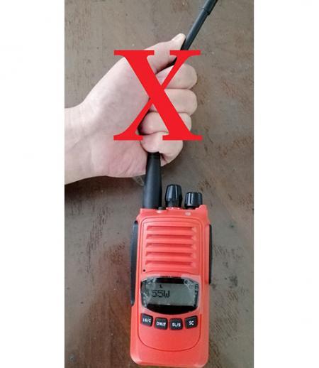 無線電對講機一般維護