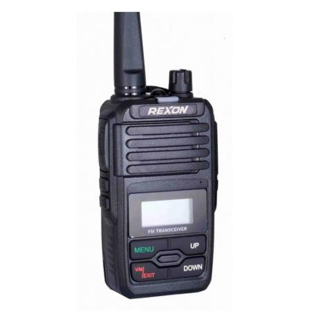 Radio bidirectionnelle - Radio portable analogique professionnelle RL-128 Avant droit