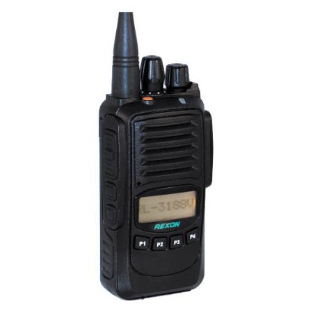 Radio bidirectionnelle Radio analogique professionnelle RL-3188 Avant droit