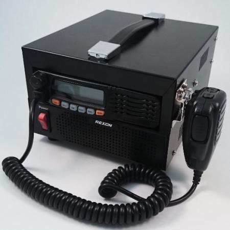 Radio Bidirectionnelle-LVHF 66-88MHz RM-03NB Avant gauche