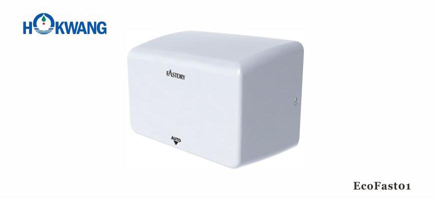 EcoFast01 1000W White Compact Hand Dryer