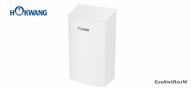 EcoSwift01W ADA compliant 1000W Small White Hand Dryer