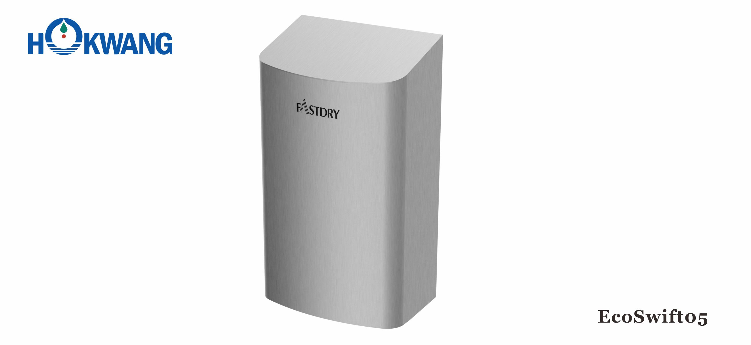 EcoSwift05 G-Mark Certified ADA compliant 1000W Small Stainless Steel Hand Dryer