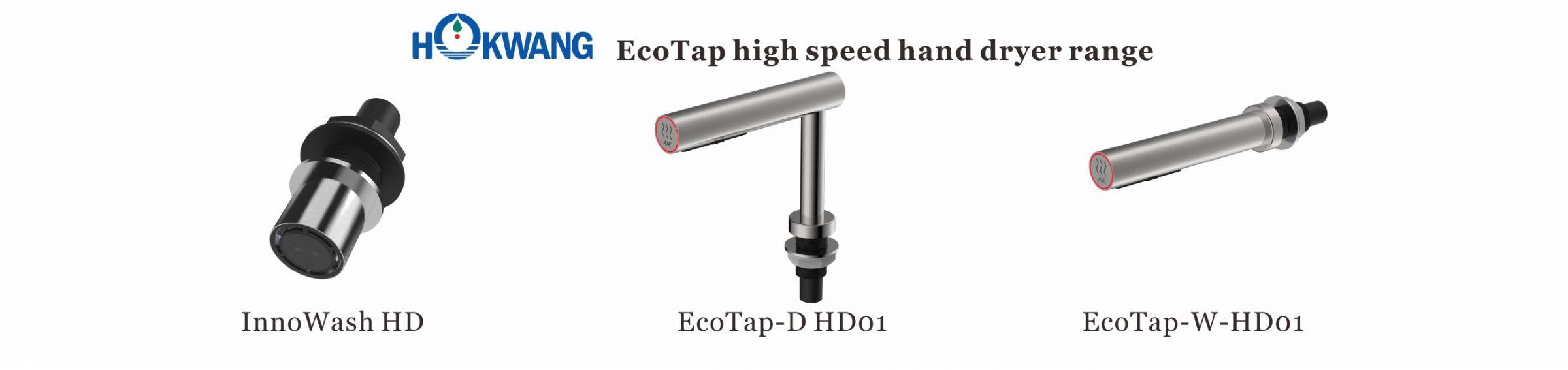 EcoTap Pengering Tangan Berkecepatan Tinggi