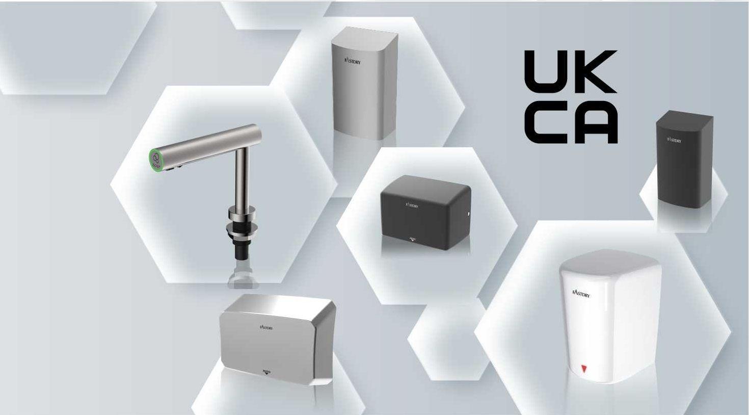 Hokwang Pengering Tangan Bersertifikat UKCA dan Dispenser Sabun Otomatis