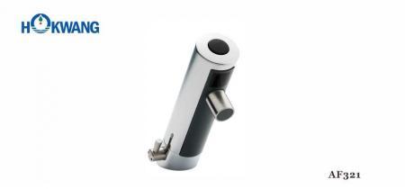Faucet อัตโนมัติ All-in-one แบบติดตั้งบนดาดฟ้าพร้อมการจ่ายน้ำร้อน / เย็น - AF321 Faucet ติดที่ดาดฟ้าอัตโนมัติ