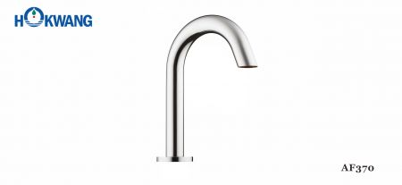 Faucet Air Otomatis Gooseneck yang Dipasang di Dek - Faucet yang Dipasang di Dek Otomatis AF370