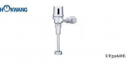 Katup Siram Urinoir yang Dipasang di Dinding Otomatis-Kuningan Chrome - UF526DE Auto Exposed Urinoir Flusher