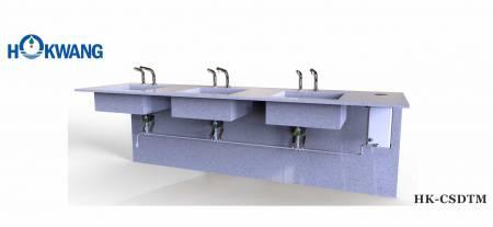 نظام موزع صابون سائل أوتوماتيكي متعدد التغذية مملوء بالأعلى - نظام موزع الصابون التلقائي متعدد التغذية HK-CSDTM