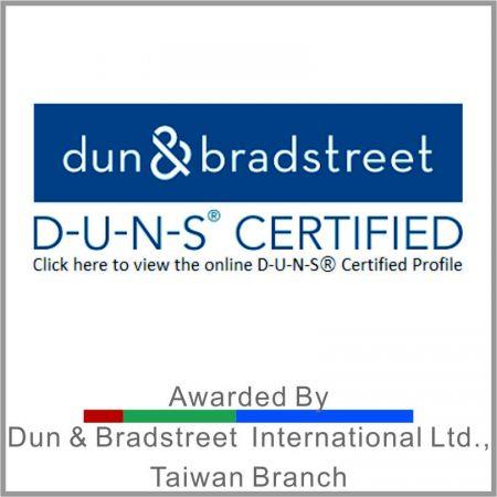 บริษัทที่ผ่านการรับรอง DUNS