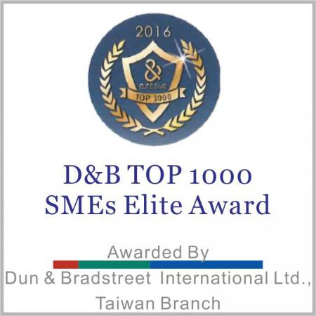 D&B Top 1000 SMEs Elite Award
