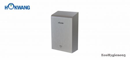 Satin Stainless Steel ADA Hand Dryer With HEPA Filter