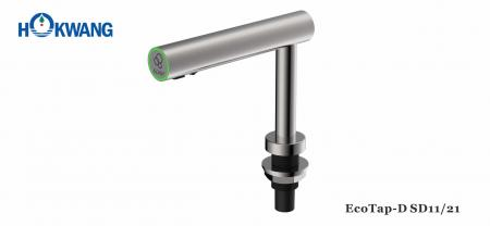 Auto Stainless Steel Deck Mounted Multi-Function Soap/Sanitizer Dispenser - EcoTap Auto Stainless Steel Deck Mounted Liquid Soap/Foam Soap /Sanitizer Dispenser