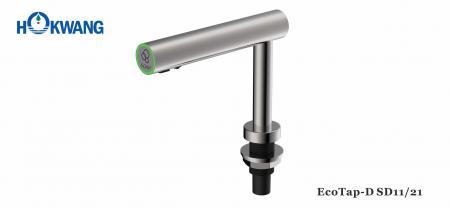 موزع صابون / مطهر أوتوماتيكي مثبت على سطح من الفولاذ المقاوم للصدأ متعدد الوظائف - موزع صابون سائل / صابون رغوي / مطهر من EcoTap أوتوماتيكي من الفولاذ المقاوم للصدأ