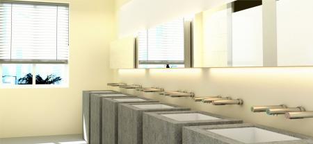 Stasiun Cuci Tangan Otomatis - Pengering tangan EcoTap, dispenser sabun, dan keran - Pengering tangan EcoTap, dispenser sabun otomatis, dan keran air otomatis