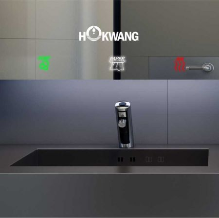AF32 Series Auto Faucet and Mirror Cabinet Version 2