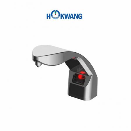 HK-CSD1 Auto Chrome Plated Plastic Deck Mounted Liquid/Foam soap Dispenser