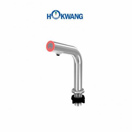 HK-CSD5R Otomatik Paslanmaz Çelik Eğimli Güverte Üstü Sıvı/Köpük sabunluk