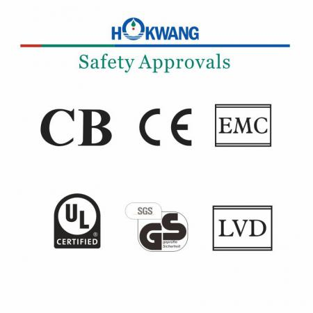 Hokwang Hand Dryer Safety Approval