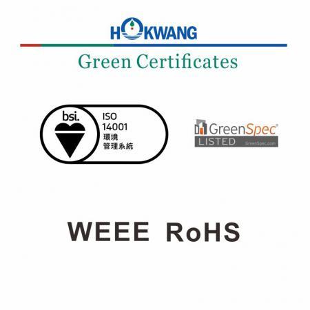 Hokwang El Kurutma Makinesi Yeşil Sertifika