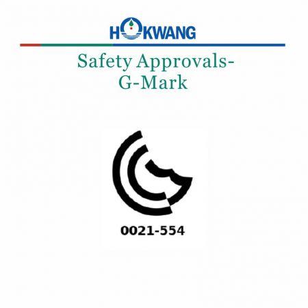 Hokwang El Kurutma Makinesi G İşareti Sertifikası