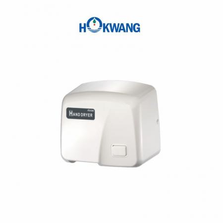 White ABS Plastic 1800W Push Button Hand Dryer