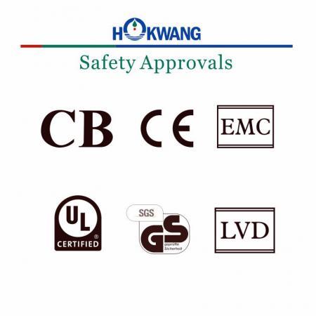 Hokwang การอนุมัติความปลอดภัยเครื่องเป่ามือ