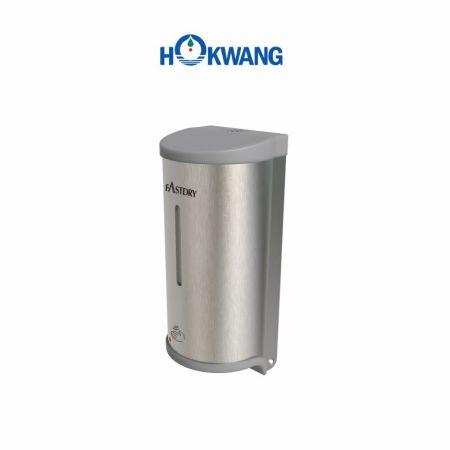 Distributeur automatique de savon multifonction en acier inoxydable avec extrémités en plastique