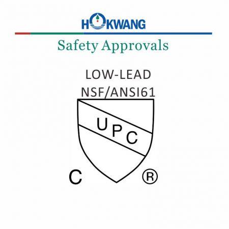 UPC sertifikalı otomatik musluk