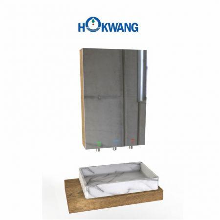 InnoWash Hand Wash Station with Mirror Cabinet