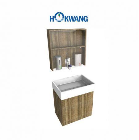 Wash Station Mirror Cabinet-single