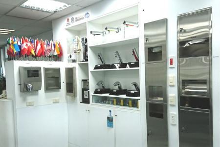 Hokwang Showroom-3 in 1 unit dan pengering tangan semi-tersembunyi