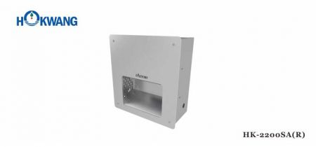 Concealed 2200W Warm Air Hand Dryer - 2200SA(R) Recessed Hand Dryer