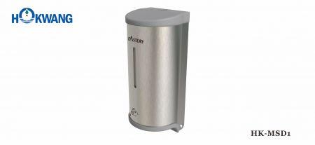 Distribuidor de sabão / desinfetante multifuncional automático de aço inoxidável com extremidades de plástico - Distribuidor de sabão multifuncional automático de aço inoxidável HK-MSD1