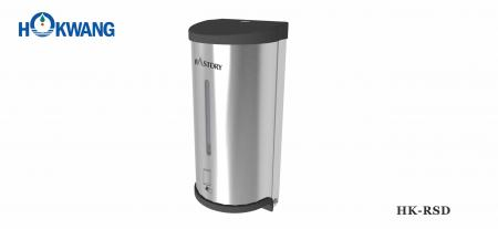 Auto Stainless Steel Liquid Soap/Sanitizer Dispenser with Plastic Ends - HK-RSD Auto Stainless Steel Liquid Soap Dispenser