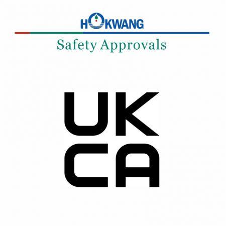 Hokwang เครื่องจ่ายสบู่ ใบรับรอง UKCA