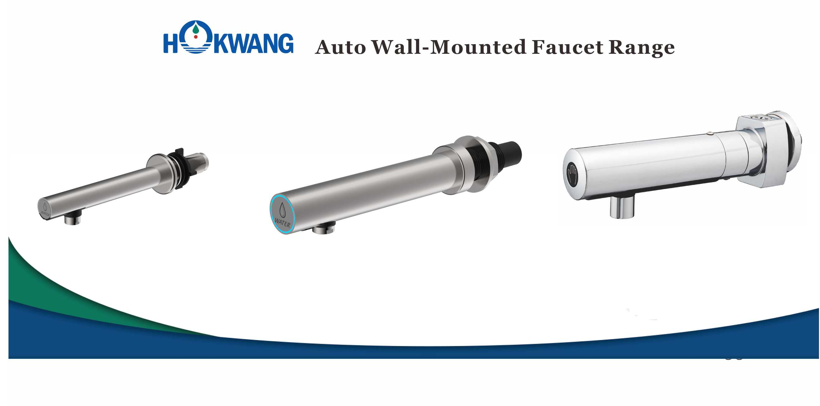 Auto Wall Mounted Faucet